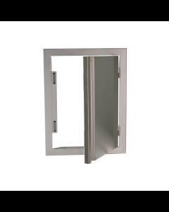 RCS Valiant Series 17-Inch Stainless Steel Vertical Single Access Door - VDV1 - Open View