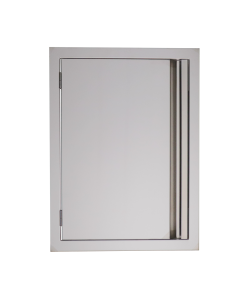 RCS Valiant Series 20-Inch Stainless Steel Vertical Single Access Door - VDV2-Front View