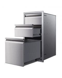 """Memphis Grills 15"""" Triple Access Drawer With Soft Close - VGC15DB3"""