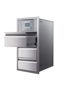 """Memphis Grills Controller 15"""" Triple Access Drawer With Soft Close- VGC15DBC3"""