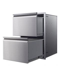 """Memphis Grills 21"""" Double Access Drawer With Soft Close - VGC21DB2"""