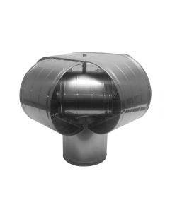 High Wind Chimney Cap For Insulated Or Single Wall Chimney Pipes - VSS