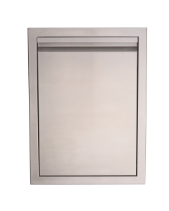 RCS Valiant Series 20-Inch Stainless Steel Trash Drawer - VTD1 - Front View