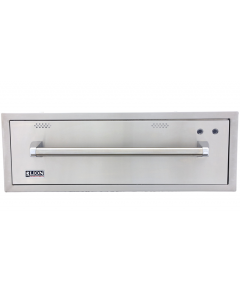 Lion 30-Inch Built-In 120V Electric Stainless Steel Warming Drawer