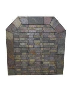 Diamond Hearths Standard Or Corner Hearth Pad - Western Flagstone